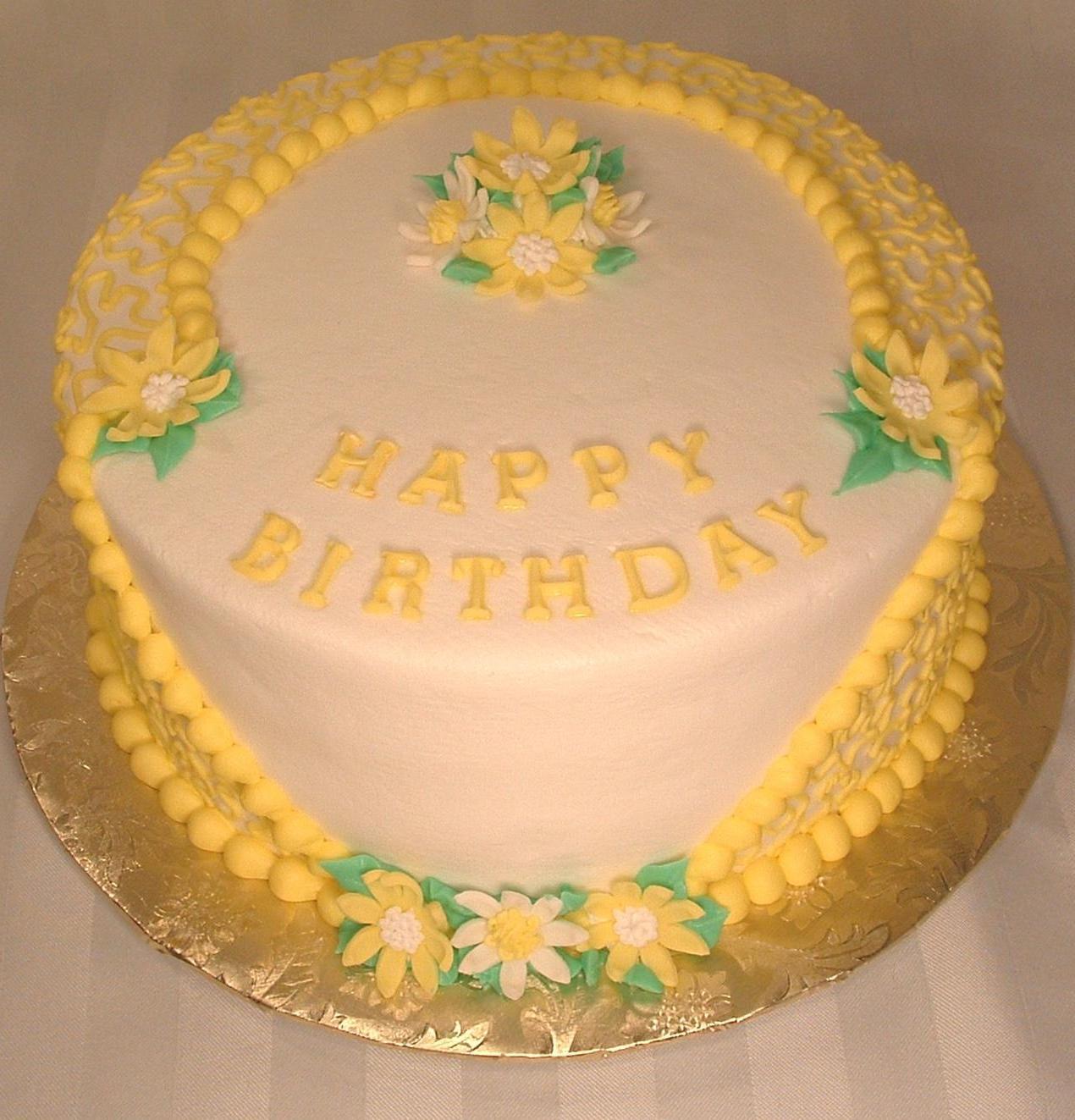 Yellow Birthday Cake Recipe — Dishmaps
