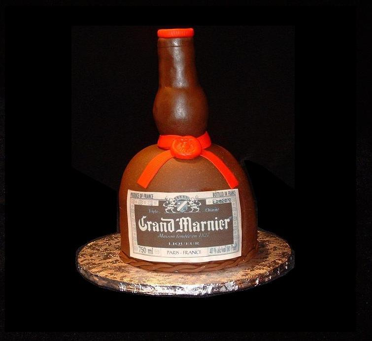 Grand Marnier Birthday Cake